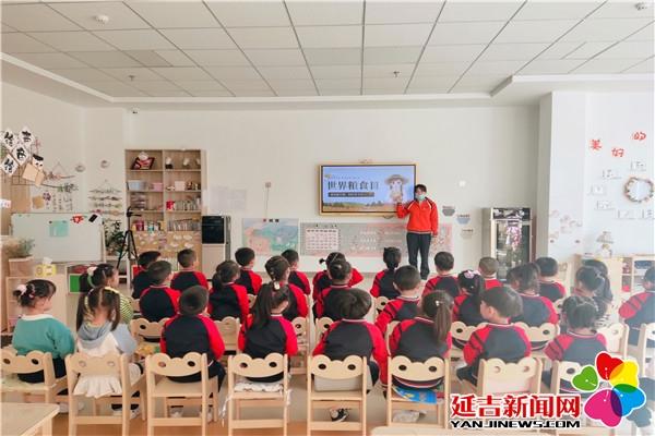 十四幼儿争做节粮小卫士 发扬勤俭节约传统好美德