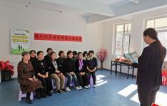 """园锦社区开展""""维护妇女权利 构建和谐家庭""""主题维权宣传活动"""