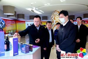 副省长蔡东到延吉调研医药健康产业发展情况